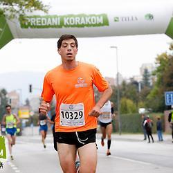 20141026: SLO, Athletics - 19th Ljubljana Marathon 2014 / Zavarovalnica Tilia - 21 in 42 km -Group 1