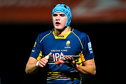 James Scott of Worcester Cavaliers - Mandatory by-line: Robbie Stephenson/JMP - 24/09/2018 - RUGBY - Sixways Stadium - Worcester, England - Worcester Cavaliers v Sale Jets - Premiership Rugby Shield