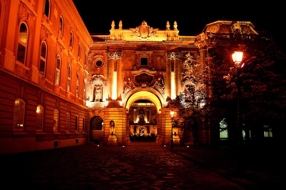 Royal Palace (Királyi Palota), Budapest, Hungary