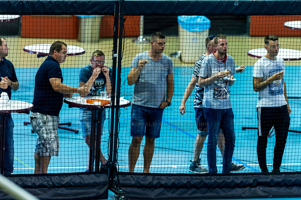 12-08-2018 NED: Rabobank Super Series Final Netherlands - Russia, Eindhoven<br /> Russia win the first edition of the Rabobank Super Series. Netherlands lost the final match 3-2 / many fans follow the final match