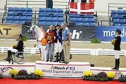 Van De Sande Petra (NED) - Toscane<br /> Alltech FEI World Equestrian Games <br /> Lexington - Kentucky 2010<br /> © Dirk Caremans