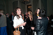 MARIE HELVIN, Dinner to mark 50 years with Vogue for David Bailey, hosted by Alexandra Shulman. Claridge's. London. 11 May 2010 *** Local Caption *** -DO NOT ARCHIVE-© Copyright Photograph by Dafydd Jones. 248 Clapham Rd. London SW9 0PZ. Tel 0207 820 0771. www.dafjones.com.<br /> MARIE HELVIN, Dinner to mark 50 years with Vogue for David Bailey, hosted by Alexandra Shulman. Claridge's. London. 11 May 2010