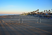 Sunrise Over Huntington Beach Volleyball Courts