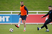 Eric Dier (Tottenham Hotspur)  during the England training session ahead of the UEFA Euro Qualifier against the Czech Repulbic, at St George's Park National Football Centre, Burton-Upon-Trent, United Kingdom on 19 March 2019.