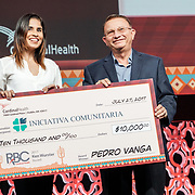Cardinal Health RBC 2017 Opening Night Gala. Ken Wurster Award winner Pedro Vanga. Photo by Alabastro Photography.