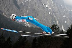 18.03.2012, Planica, Kranjska Gora, SLO, FIS Ski Sprung Weltcup, Einzel Skifliegen, im Bild Maximilian Mechler (GER),  during the FIS Skijumping Worldcup Individual Flying Hill, at Planica, Kranjska Gora, Slovenia on 2012/03/18. EXPA © 2012, PhotoCredit: EXPA/ Oskar Hoeher.