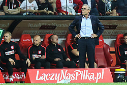 June 10, 2017 - Warsaw, Poland - Trener Adam Nawalka (POL)  during the FIFA World Cup 2018 qualification football match between Poland and Romania in Warsaw, Poland on June 10, 2017. (Credit Image: © Foto Olimpik/NurPhoto via ZUMA Press)