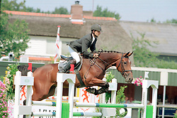Kraay Julian-Olaniyi Oevante<br />KWPN Paardendagen 2001<br />Photo © Dirk Caremans