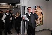 JOE MACHINE; STEVEN O'BRIEN, Britannic Myths, PV Paintings by Joe Machine, Stories by Steven O'Brien, CNB Gallery, Rivington St. London. 18 February 2016