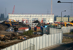 UK ENGLAND LONDON 17AUG05 - Construction for the international train station in Stratford, part of the Channel Tunnel Rail Link due to be completed by 2007. Stratford is also one of the major sites of the planned Olympic Stadium and Village for the 2012 London Olympic Games. Winning the bid against rival Paris, the London Games are expected to return a £ 100 million surplus to the IOC and British sport...jre/Photo by Jiri Rezac ..© Jiri Rezac 2005..Contact: +44 (0) 7050 110 417.Mobile:  +44 (0) 7801 337 683.Office:  +44 (0) 20 8968 9635..Email:   jiri@jirirezac.com.Web:    www.jirirezac.com..© All images Jiri Rezac 2005 - All rights reserved.