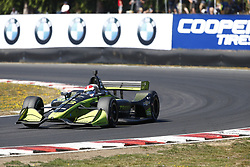 September 2, 2018 - Portland, Oregon, United Stated - CHARLIE KIMBALL (23) of the United States battles for position during the Portland International Raceway at Portland International Raceway in Portland, Oregon. (Credit Image: © Justin R. Noe Asp Inc/ASP via ZUMA Wire)