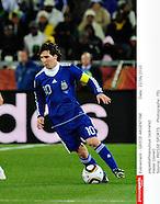 2010 World Cup - Greece v Argentina