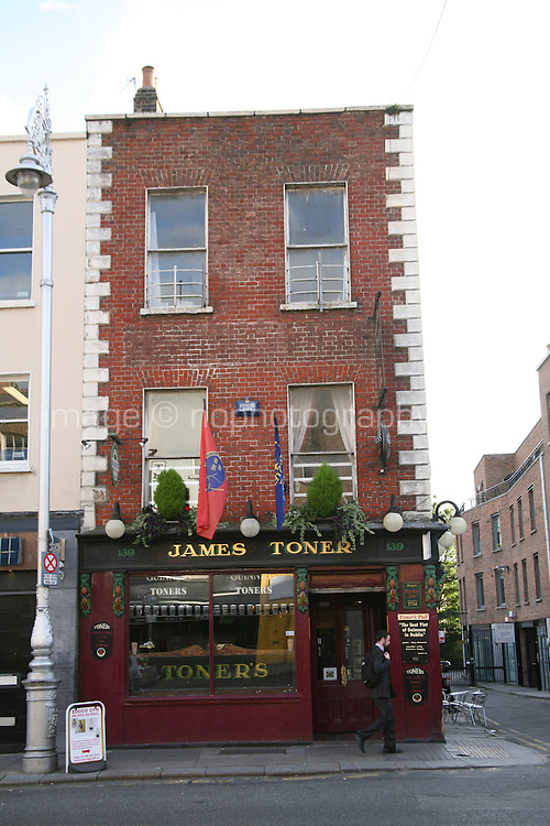 Toners Irish pub on Baggot Street Dublin Ireland