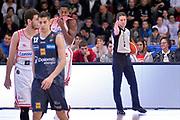 Evangelista Caiazza arbitro<br /> Dolomiti Energia Aquila Basket Trento - Consultinvest Victoria Libertas Pesaro<br /> Lega Basket Serie A 2016/2017<br /> Trento, 26/03/2017<br /> Foto M. Ceretti / Ciamillo - Castoria