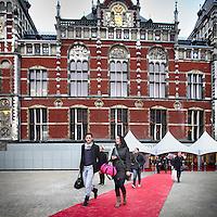 Nederland, Amsterdam , 26 oktober 2011..Feestelijke heropening van de hoofdingang van het Centraal Station...Foto:Jean-Pierre Jans