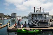 Newport Princess Cruise Boat at Newport Beach Harbor