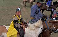 Mongolia. horse race for kids. during the Naadam festival in  Khurjit  / course de chevaux  des enfants . Naadam festival in   Khurjit - Mongolie