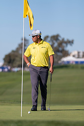 January 25, 2019 - San Diego, CA, U.S. - SAN DIEGO, CA - JANUARY 25:  Hideki Matsuyama during the second round of the Farmers Insurance Open at Torrey Pines Golf Club on January 25, 2019 in San Diego, California.(Photo by Alan Smith/Icon Sportswire) (Credit Image: © Alan Smith/Icon SMI via ZUMA Press)