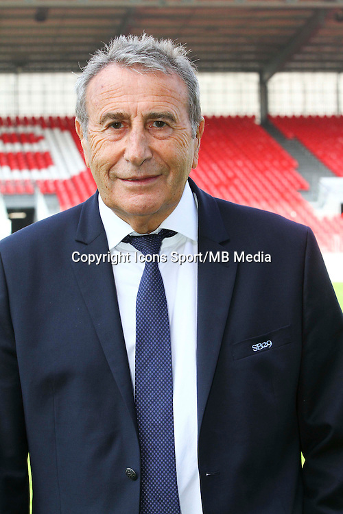 Yvon KERMARREC - 08.09.2014 - Photo officielle Brest - Ligue 2 2014/2015<br /> Photo : Maxime Kerriou / Icon Sport