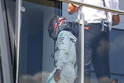July 8, 2018 - Silverstone, Great Britain - Motorsports: FIA Formula One World Championship 2018, Grand Prix of Great Britain, ..#44 Lewis Hamilton (GBR, Mercedes AMG Petronas Motorsport) (Credit Image: © Hoch Zwei via ZUMA Wire)