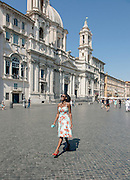 Rome, the writer Taiye Selasi, Piazza Navona