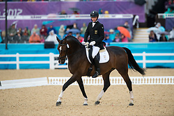 Dawson Anthony (RSA) - Roffelaar<br /> Team Test - Grade II - Dressage <br /> London 2012 Paralympic Games<br /> © Hippo Foto - Jon Stroud
