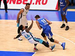 October 3, 2018 - St. Petersburg, Russia - October 3, 2018 St. Petersburg. Russia. Eurocup. BK Zenit-BK Turk Telecom. Player Yevgeny Voronov  (Credit Image: © Russian Look via ZUMA Wire)