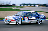 #3 Andy Rouse Kaliber ICS Team Toyota Toyota Carina  during Round 1of the 1991 British Touring Car Championship at Silverstone, Towcester, Northamptonshire, United Kingdom. 1st April 1991, World Copyright Peter Taylor/PSP. Copy of publication required for printed pictures.