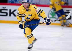 15.05.2012, Ericsson Globe, Stockholm, SWE, IIHF, Eishockey WM, Schweden (SWE) vs Lettland (LVL), im Bild Sverige Sweden 4 Staffan Kronwall (Severstal Cherepovets) // during the IIHF Icehockey World Championship Game between Schweden (SWE) vs Latvia (LVL) at the Ericsson Globe, Stockholm, Sweden on 2012/05/15. EXPA Pictures © 2012, PhotoCredit: EXPA/ PicAgency Skycam..***** ATTENTION - OUT OF SWE *****