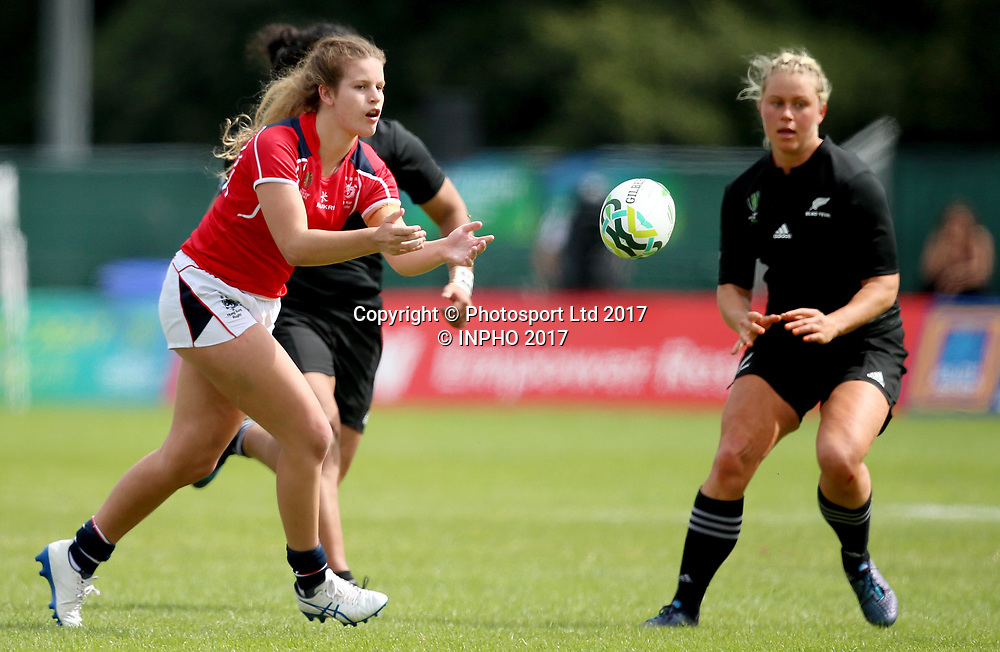 2017 Women's Rugby World Cup Pool B Billings Park UCD Dublin 13/8/2017<br /> New Zealand vs Hong Kong<br /> Hong Kong&rsquo;s Kelsie Bouttle<br /> Mandatory Credit &copy;INPHO/Tommy Dickson / www.photosport.nz