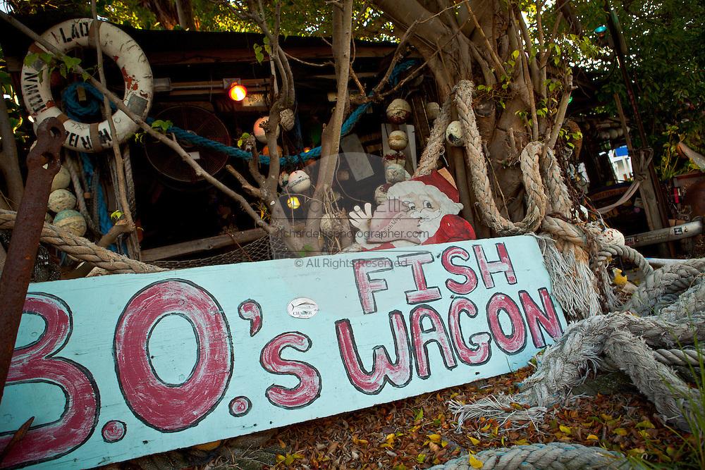 B.O's Fish Wagon Key West, Florida.