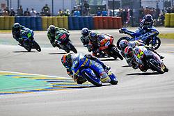 May 20, 2018 - Le Mans, France - 44 ARON CANET (ESP) ESTRELLA GALICIA 0 0 (ESP) HONDA NSF250RW (Credit Image: © Panoramic via ZUMA Press)