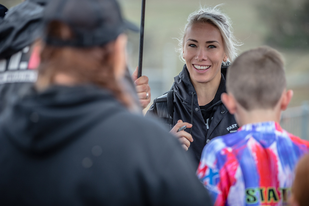 #68 (BUCHANAN Caroline) AUS at Round 4 of the 2020 UCI BMX Supercross World Cup in Bathurst, Australia.