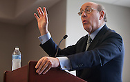 Ken Feinberg, administrator of the BP Oil Spill Victim Compensation Fund at a town hall meeting Lafitte Louisiana to listen and take questions from those effected by the BP oil disaster.