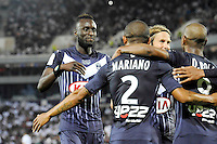 Ludovic SANE - Joie groupe   - 23.05.2015 - Bordeaux / Montpellier - 38eme journee Ligue 1<br /> Photo : Nolwenn Le Gouic / Icon Sport