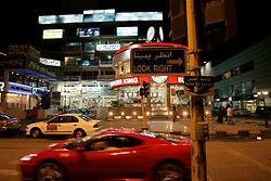 KUWAIT KUWAIT CITY SALMIYA 13MAR05 - Shopping facilities along Quatar Road in Salmiya, Kuwait City's affluent suburb...jre/Photo by Jiri Rezac..© Jiri Rezac 2005..Contact: +44 (0) 7050 110 417.Mobile:  +44 (0) 7801 337 683.Office:  +44 (0) 20 8968 9635..Email:   jiri@jirirezac.com.Web:     www.jirirezac.com..© All images Jiri Rezac 2005 - All rights reserved.