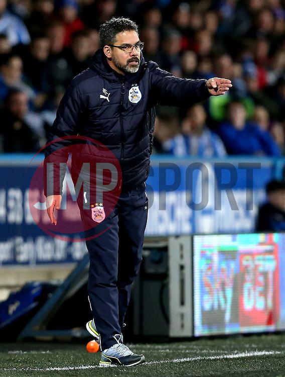 An animated Huddersfield Town manager David Wagner - Mandatory by-line: Robbie Stephenson/JMP - 02/02/2017 - FOOTBALL - John Smith's Stadium - Huddersfield, England - Huddersfield Town v Brighton and Hove Albion - Sky Bet Championship