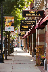Hanover Street in Manchester, New Hampshire.