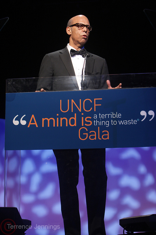 "New York, NY- MARCH 1: Dr. Michael Lomax, President & CEO, UNCF at the UNCF "" A Mind is "" Gala held at the Marriott Marquis Hotel on March 1, 2012 in New York City. Photo Credit: Terrence Jennings"