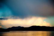 San Juan Islands, Washington, seen from the Anacortes to Orcas Island ferry.
