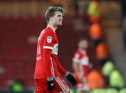 Patrick Bamford of Middlesbrough during the EFL Sky Bet Championship match between Middlesbrough and Leeds United at the Riverside Stadium, Middlesbrough, England on 2 March 2018. Picture by Paul Thompson.