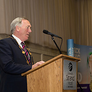 10.10. 2017.          <br /> Pictured at the Limerick Going for Gold 2017 finals in the Strand Hotel was Mayor of the City and County of Limerick Cllr Stephen Keary.<br /> <br /> <br /> Limerick Going for Gold, which is sponsored by the JP McManus Charitable Foundation, has a total prize pool of over €75,000.  It is organised by Limerick City and County Council and supported by Limerick's Live 95FM, The Limerick Leader and The Limerick Chronicle, The Limerick Post, Parkway Shopping Centre, I Love Limerick and Southern Marketing Media & Design. Picture: Alan Place