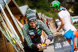 Naglic Tomaz during national competition in Ski Jumping, 8th of October, 2016, Kranj,  Slovenia. Photo by Grega Valancic / Sportida