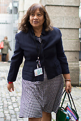 © Licensed to London News Pictures. 30/09/2019. London, UK. Shadow Leader of the House of Commons Valerie Vaz arrives at Portcullis House .  Photo credit: George Cracknell Wright/LNP