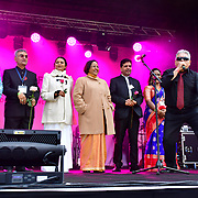 Mayor of London celebrates the Festival of Lights with Diwali in Trafalgar Square festival of lights, which is celebrated by Hindu, Sikh and Jain communities across London and around the world, will see the square come alive with music and dance, food and drink, market stalls and creative activities for the whole family on 3 November 2019, London, UK. Photo Creidt: Picture Capital