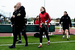 Tony Elliott, Sophie Baggaley of Bristol City and Chris Difford - Mandatory by-line: Ryan Hiscott/JMP - 24/11/2019 - FOOTBALL - Stoke Gifford Stadium - Bristol, England - Bristol City Women v Manchester City Women - Barclays FA Women's Super League
