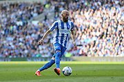 Brighton & Hove Albion full back Bruno Saltor (Captain) (2) during the EFL Sky Bet Championship match between Brighton and Hove Albion and Bristol City at the American Express Community Stadium, Brighton and Hove, England on 29 April 2017. Photo by Phil Duncan.