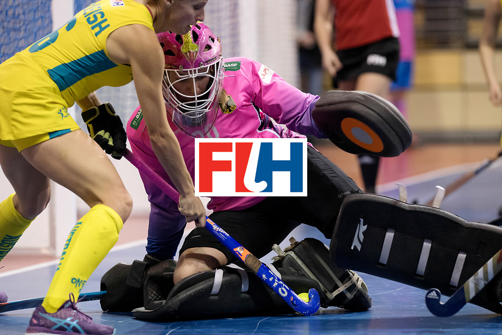 BERLIN - Indoor Hockey World Cup<br /> Women: Germany  - Australia<br /> foto: Julia Ciupka.<br /> WORLDSPORTPICS COPYRIGHT FRANK UIJLENBROEK
