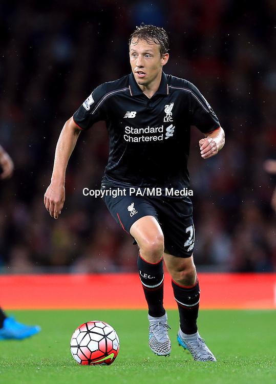 Liverpool's Lucas Leiva