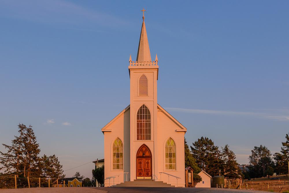 Saint Teresa of Avila Church, Bodega, California, Build in 1860